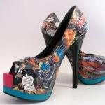Comic Books Shoes