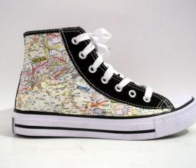Germany Map Sneakers